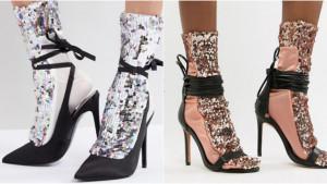 Čarapi sa šljokicama