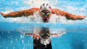 Trening Michael Phelpsa