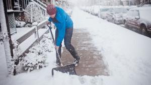 Kako pretvoriti čišćenje snijega u vježbu