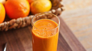Mrkva - mandarina šejk idealan za gubitak kilograma