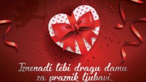 Iznenadi svoju ljepšu polovinu za praznik ljubavi