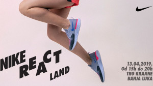 Nezaboravno Nike React Land iskustvo na Trgu Krajine