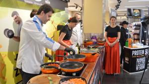 U supermarketu u Alta Shopping Centru kupci probali zdrava i ukusna jela uz savjete nutricioniste