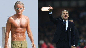 Roberto Mancini u poznim godinama izgleda bolje nego ikad