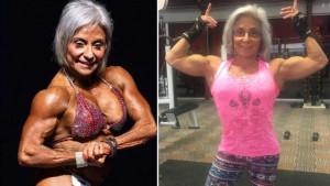 Sedamdesetogodišnja baka sposobna da podizanjem na vratilu postidi većinu momaka