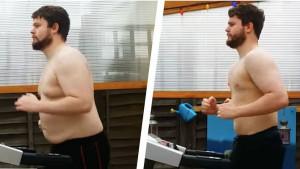 Snimio je timelapse nevjerovatnog napretka u teretani: Gubitak 22 kilograma za 7 mjeseci