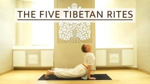 Pet tibetanaca – yoga vježbe za podmlađivanje
