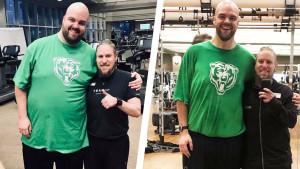 Preuzeo je kontrolu nad ishranom i problemom s alkoholom, te potpuno promijenio svoj život
