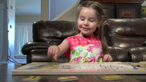 Trogodišnja djevojčica nevjerovatnog IQ-a od 160!