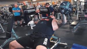 Još jedan rekord u nizu: Eddie Hall izvodio bench potisak sa bučicama teškim 110 kg!