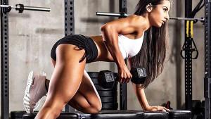 Od mršavice do zvijeri: Seksipilna Sarah će vas inspirisati da se pokrenete