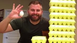 Zanimljiv eksperiment: Šta će se desiti vašem tijelu ako budete jeli 12 jaja dnevno?