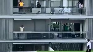 Grupni trening na balkonima je pravi hit u vrijeme koronavirusa