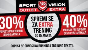 Spremi se za extra trening - Sport Vision Outlet