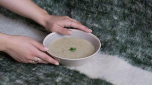 Krem supa od gljiva obogaćena dijetalnim vlaknima