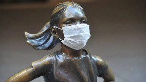 Evo kako su građani zaštitili statue širom svijeta od koronavirusa