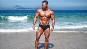 Fitness model koji je postigao savršenstvo muškog izgleda