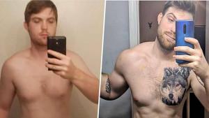 Jednostavan plan vježbanja i praćenje kalorija pomogli su mu da izgubi 18 kilograma