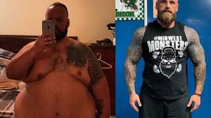 Od ovisnika do zvijeri: Izgubio je zapanjujućih 95 kilograma i isklesao tijelo