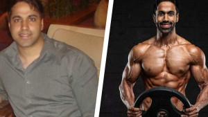 Inspirativna transformacija: Smršao je 34 kilograma i oblikovao mišiće