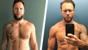 Izgubio je 25 kilograma bez odricanja od omiljene hrane