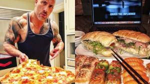 The Rock u jednom cheat obroku unese više proteina nego prosječan čovjek tokom jedne sedmice