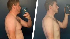 Inspirativna transformacija: Matthew je morao kupiti novu odjeću jer mu stara više ne pristaje