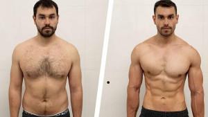 12 sedmica je dovoljno: Izgubio je 15 kilograma i isklesao trbušnjake uz redovan trening