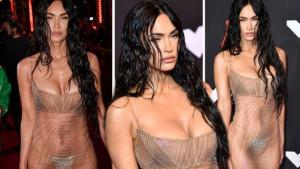 Savršena Megan Fox pokazala tonirane trbušnjake i stražnjicu u prozirnoj haljini s draguljima