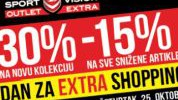Dan za Extra Shopping u Sport Vision Outlet Extra