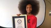 Najveća afro frizura: Dječak Guinnessov rekorder