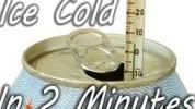 Kako rashladiti piće za par minuta?