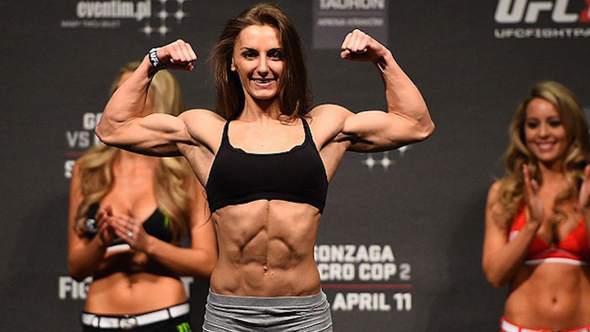 Vježbe kojima se Alexandra Albu sprema za nadolazeću borbu
