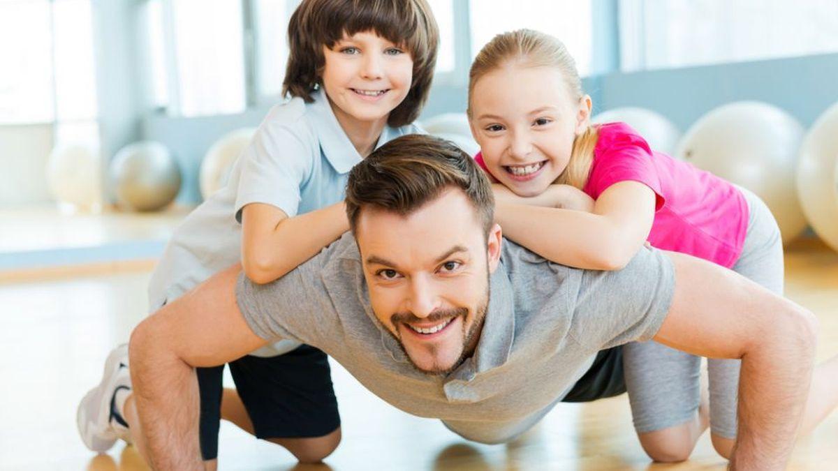 Vježbajte sa djecom
