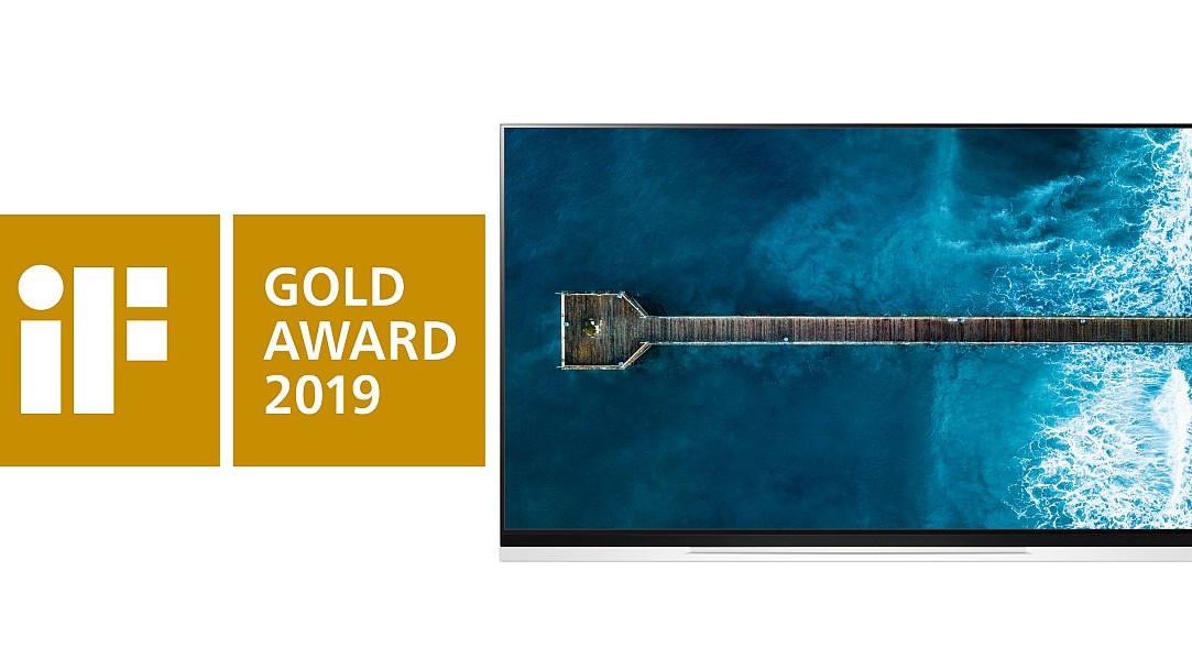 LG OLED TV dobitnik iF Gold nagrade za izvrsnost u dizajnu