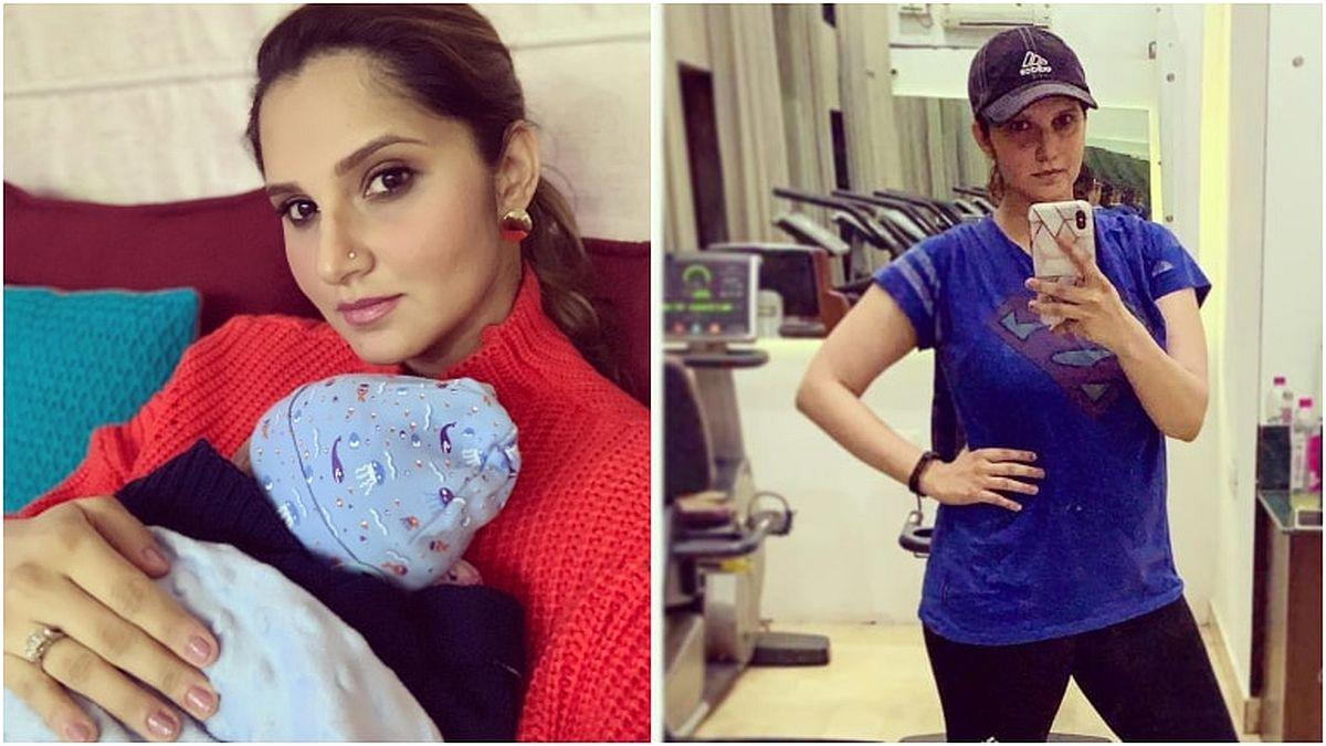 Sania Mirza je odlučna da izgradi tijelo nakon trudnoće