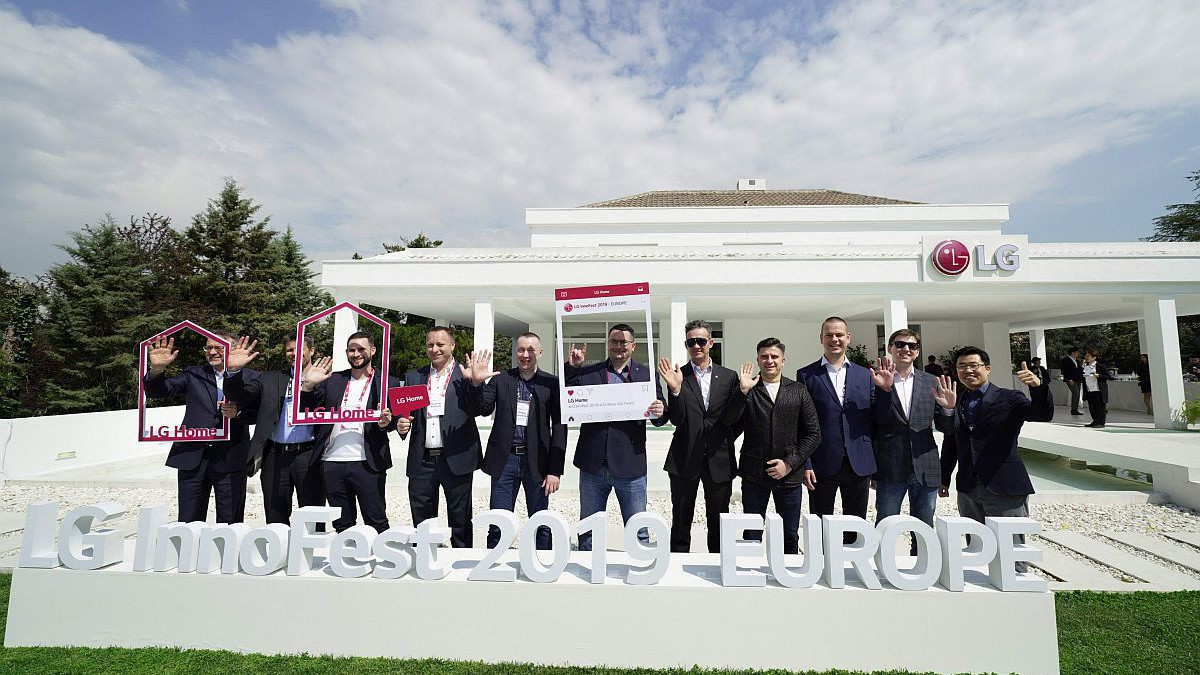 Inovativni LG uređaji predstavljeni na InnoFest Europe sajmu