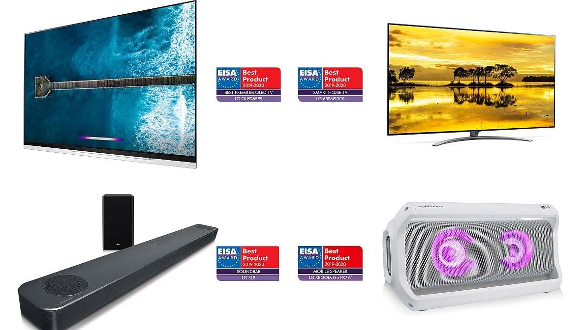 Najnoviji LG AI televizor i audio inovacije osvojili najznačajnije EISA nagrade