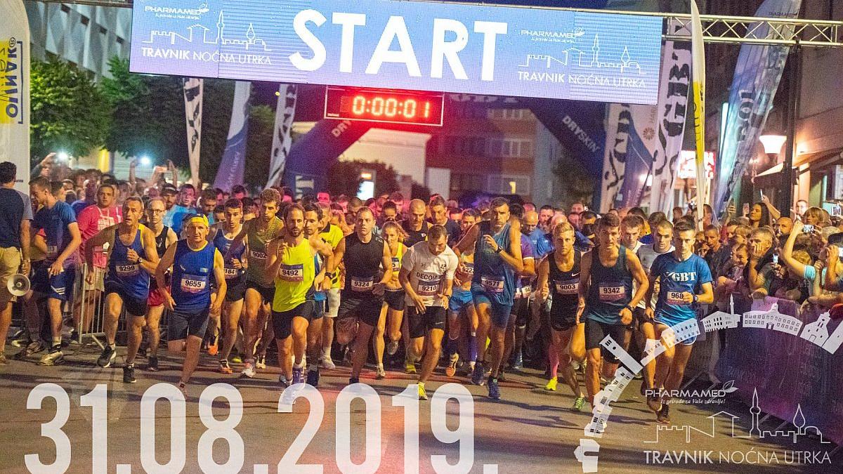 Pharmamed Travnik noćna utrka: Organizator očekuje 1400 trkača