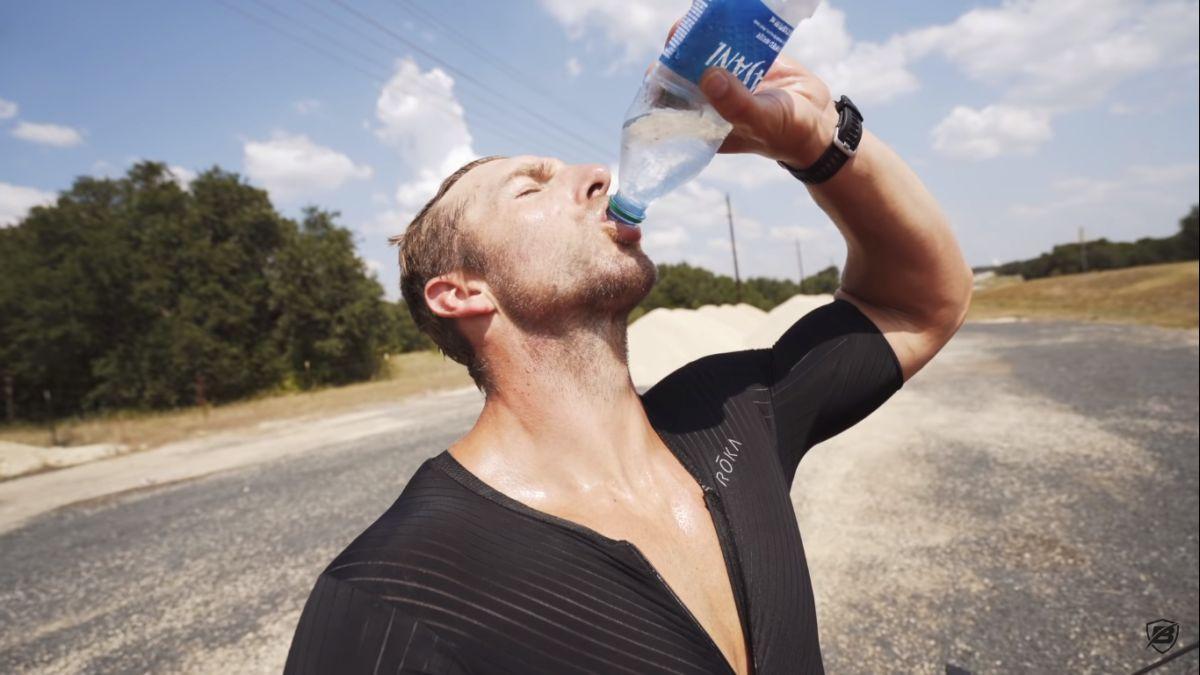 Pripremajući se za Ironman triatlon izgubio više od 4 kilograma u jednom danu