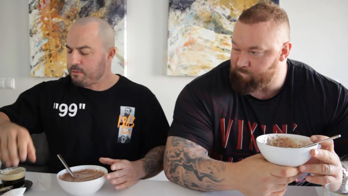 Cheat day kakav nije viđen: Thor Bjornsson pojeo hranu od čak 17.000 kalorija