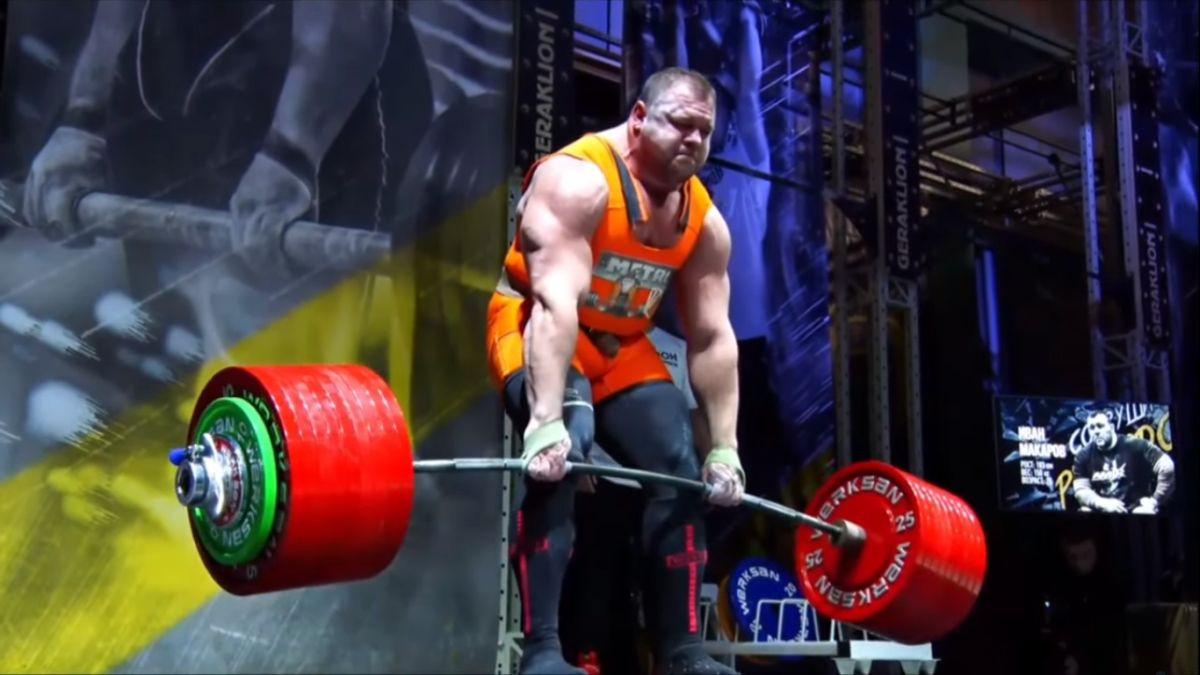 Eddie Hall je još uvijek nedostižan: Ivan Makarov neuspješno pokušao podići 501 kg na mrtvom dizanju