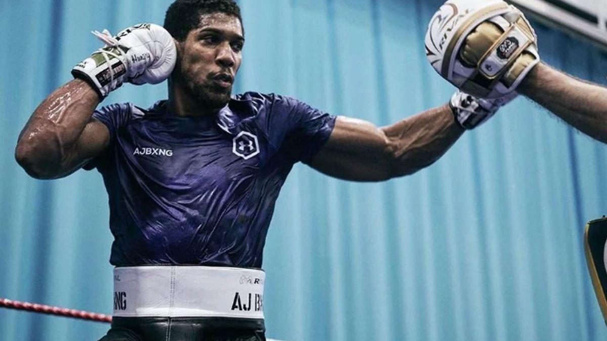 Trenira s najjačom motivacijom ikad: Anthony Joshua u životnoj formi čeka revanš s Ruizom
