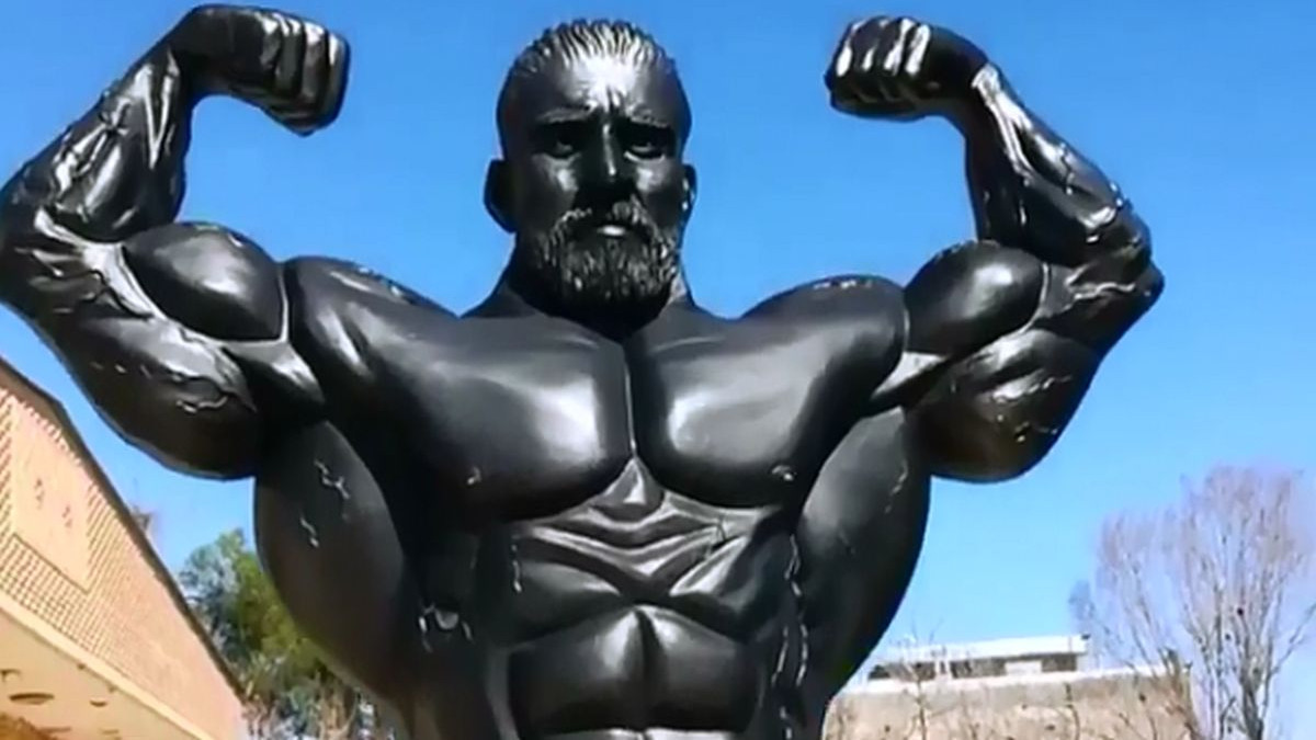 Veliko priznanje: Hadi Choopan postao jedan od rijetkih bodybuildera koji imaju svoju statuu