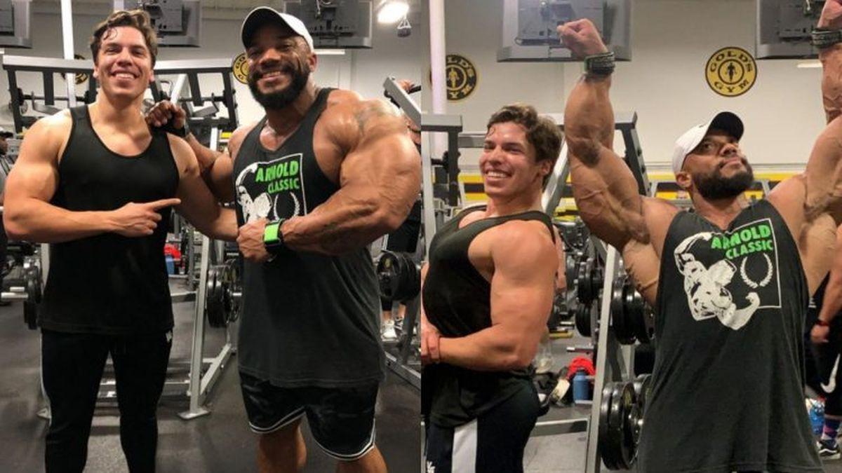 Poput očeva: Sinovi istinskih legendi bodybuildinga zajedno u teretani
