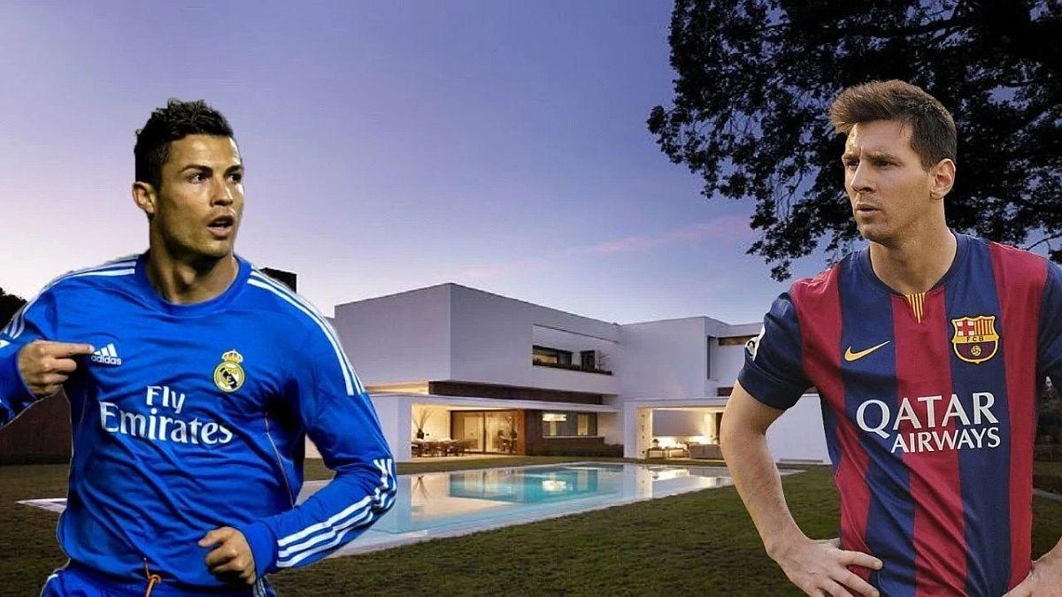 Top 10 najluksuznijih domova fudbalera