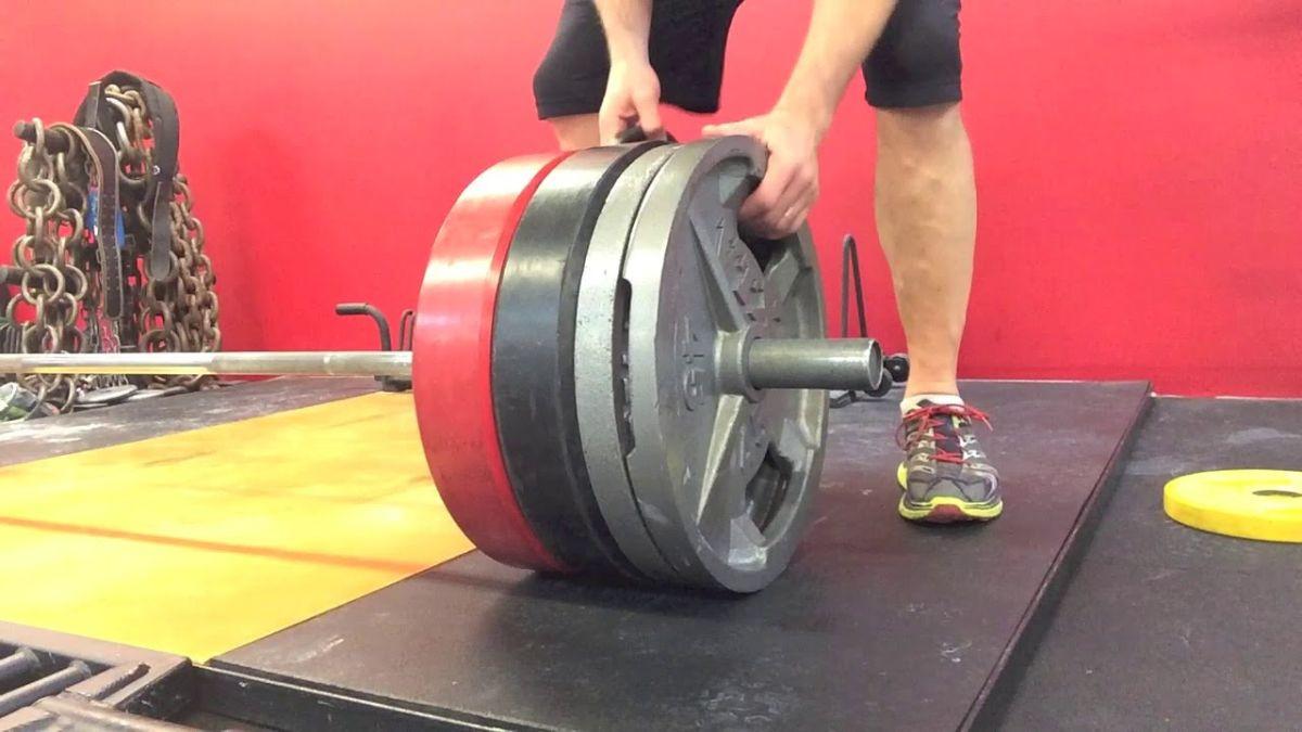 Kako na najjednostavniji način skinuti ploče sa šipke nakon vježbanja?