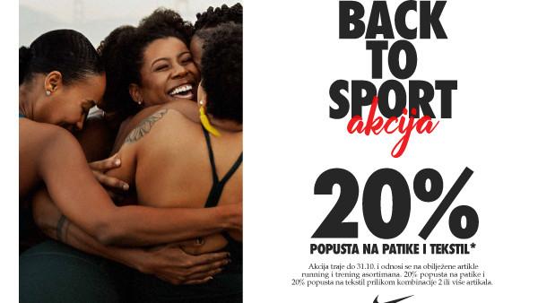 Dobitna kombinacija za bolju formu - Nike oprema i ti