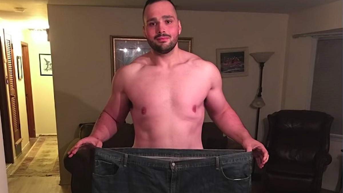 Ekstremna transformacija tijela: Smršao je 122 kilograma kada je napravio ozbiljne životne promjene