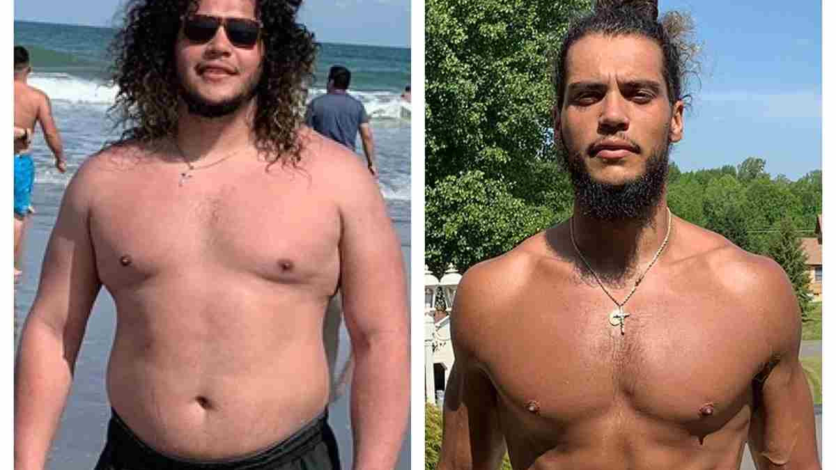 Nevjerovatna transformacija: Izgubio je 45 kilograma za godinu dana bez restriktivne dijete